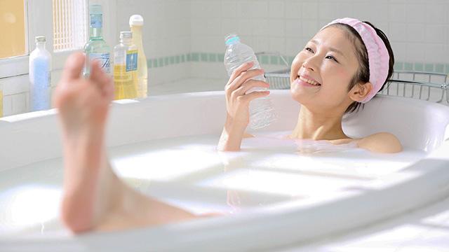 お風呂上がり 赤い斑点